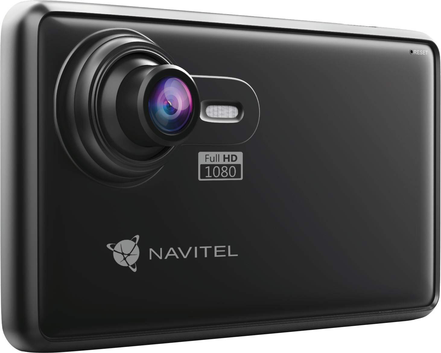 Navitel-RE900-127-cm-5-Zoll-Touchscreen-Navigationsgert-GPS-Multi-1280-x-720-Pixel-Speicherkarte-MicroSD-TransFlash-16-GB-Schwarz
