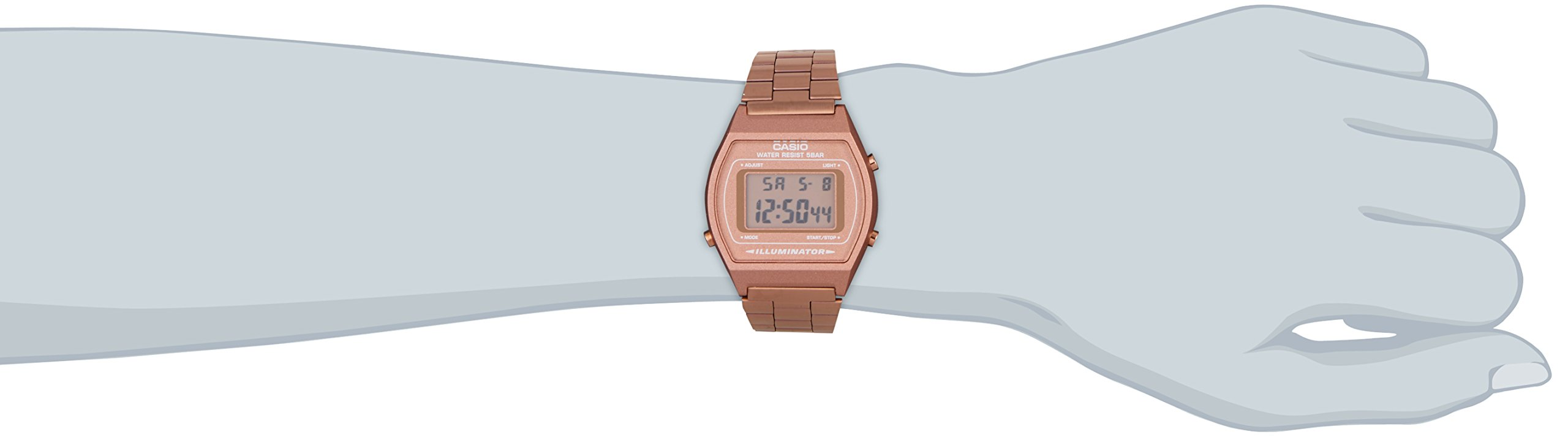 Casio-Collection-UnisexRetro-Armbanduhr
