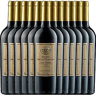 12er-Paket-Quinta-das-Setencostas-Tinto-2015-Casa-Santos-Lima-trockener-Rotwein-portugiesischer-Wein-aus-Estremadura-12-x-075-Liter
