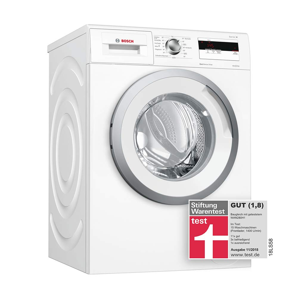Bosch-WAN28040-Waschmaschine-FrontladerA-1400-UpMSchaumerkennungUnwuchtkontrollewei