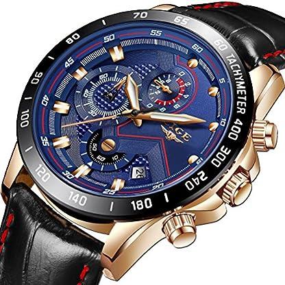 Herren-Analoger-Quarz-Uhren-Mnner-Mode-Leder-Uhr-Sport-Wasserdichten-Chronograph-Armbanduhr-Luxus-Marke-LIGE-Mann-Elegant-Business-Blau-Zifferblattuhr