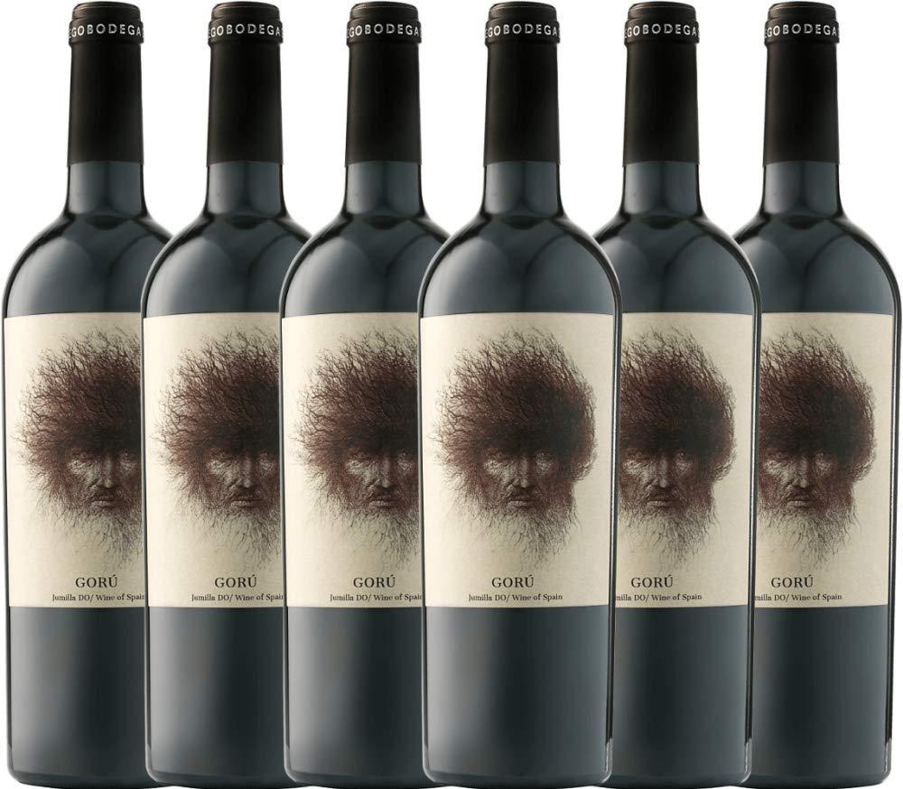 6er-Paket-Goru-Jumilla-DO-2018-Ego-Bodegas-trockener-Rotwein-spanischer-Wein-aus-Murica-6-x-075-Liter