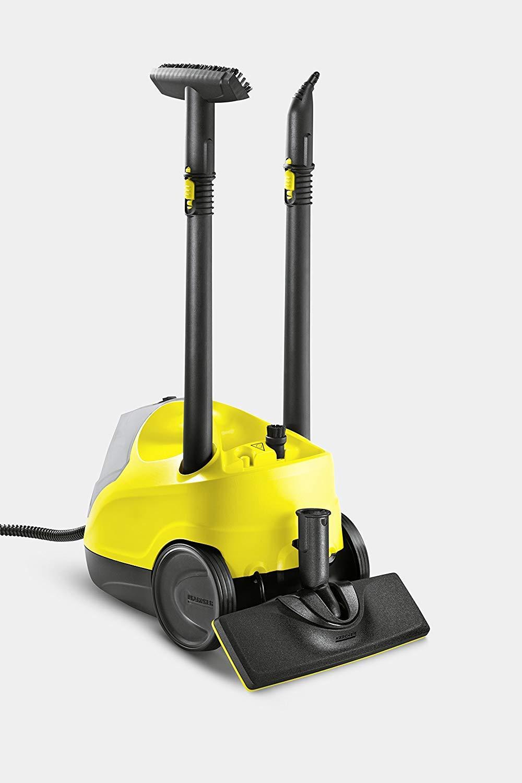 Krcher-Dampfreiniger-SC-4-EasyFix-Flchenleistung-je-Tankfllung-ca-100-m-Aufheizzeit-4-min-Tank-permanent-befllbar-und-abnehmbar-Kabelaufbewahrungsfach-Parkposition-weiteres-Zubehr