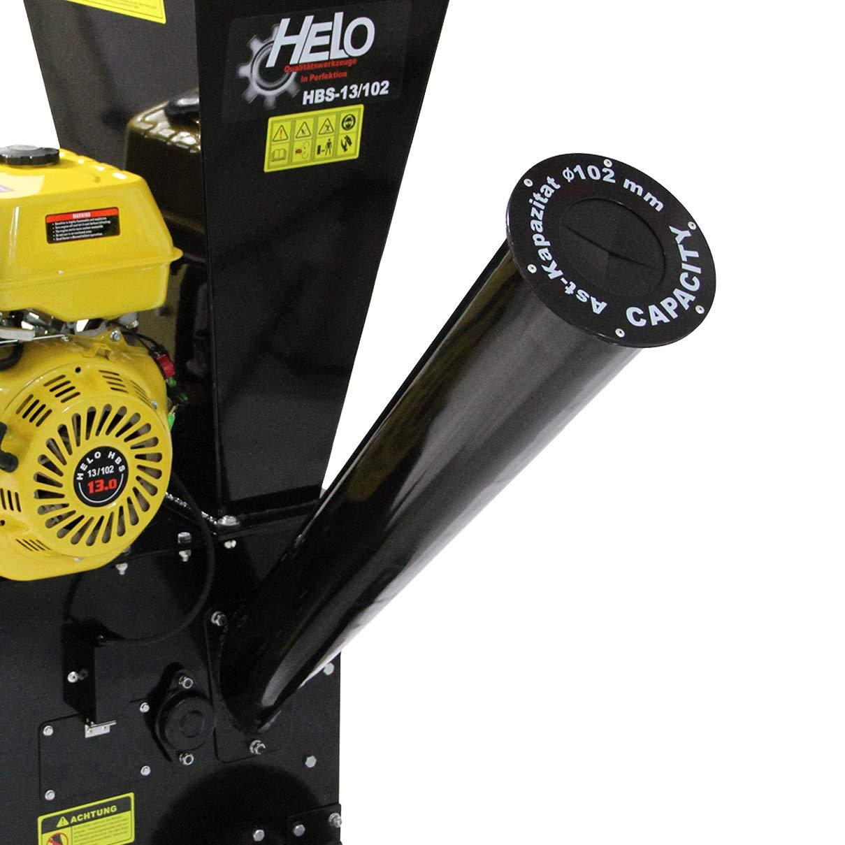 Helo Hbs 13 102 Benzin Gartenhacksler Mit 13 Ps Benzin Motor 22