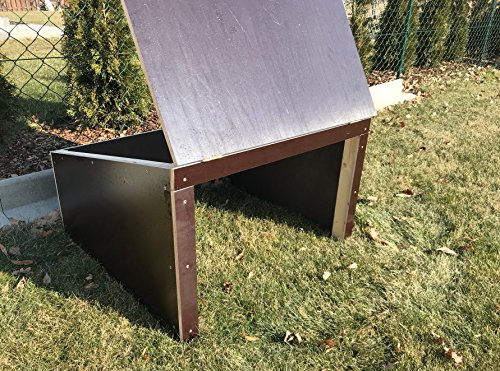 Mhroboter-Garage-Dach-Carport-berdachung-fr-Rasenroboter-aus-Siebdruckplatten-99-cm-x-99-cm-x-45-cm-wird-fertig-montiert-geliefert-witterungsfest