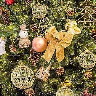 FeiliandaJJ-56CM-6Pcs-Weihnachtsbaumkugeln-Gold-Kugel-Weihnachten-Deko-Anhnger-Christbaumkugeln-fr-Weihnachtsbaum-Party-Home-Hochzeit