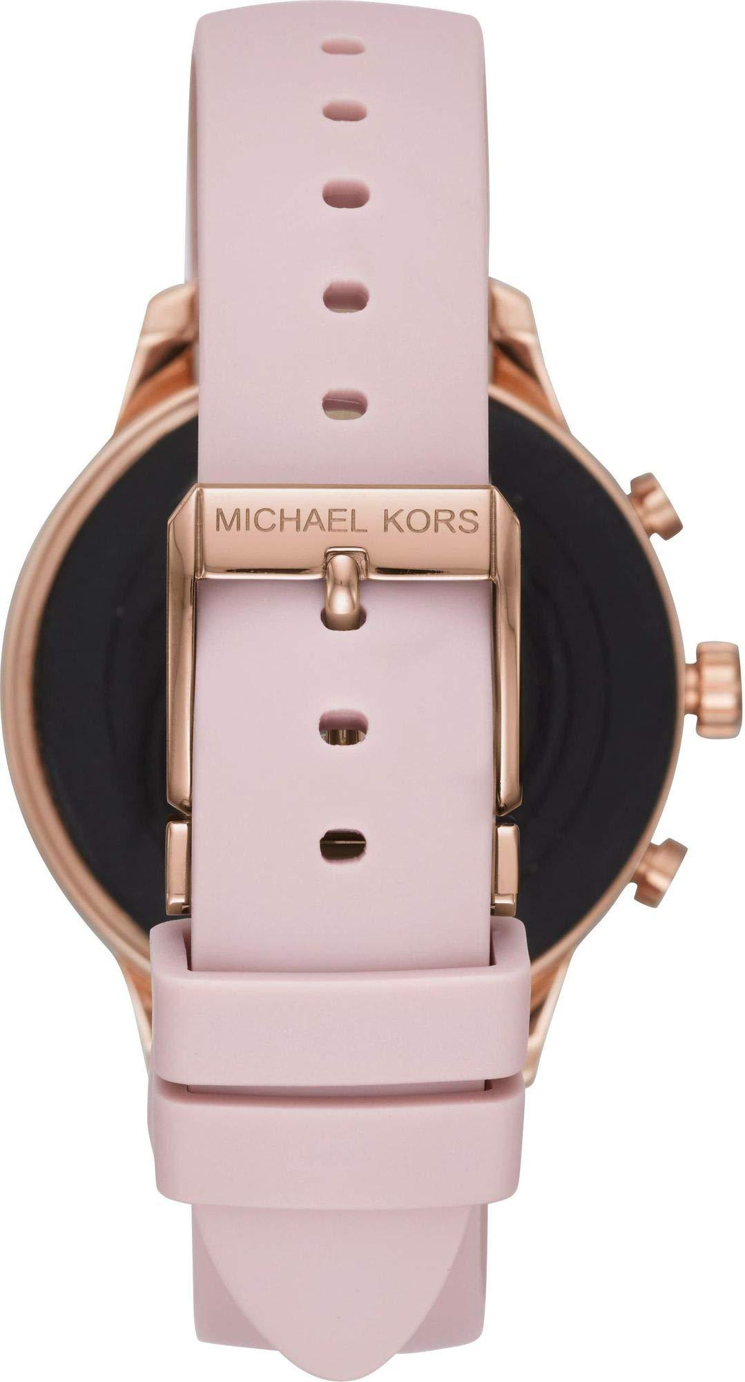 Gunstig Michael Kors Damen Smartwatch Mit Silikon Armband Mkt5048