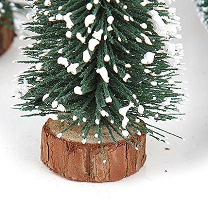 Prettyia-Mini-Tanne-Weihnachtsbaum-Weihnachtsdeko-Tannenbaum-Weihnachten-Party-Bar-Kinderzimmer-Deko-Tisch-Deko
