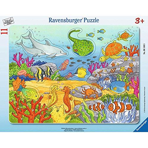 Ravensburger-Puzzle-06149-Frhliche-Meeresbewohner