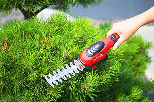 Grizzly-Akku-Gras-Schere-Strauch-Schere-Akku-Heckenschere-36-V-13-AH-Grasmesser-8-cm-Strauchmesser-12-cm-werkzeugloser-Messerwechsel-inkl-Messerschutz-und-Ladegert