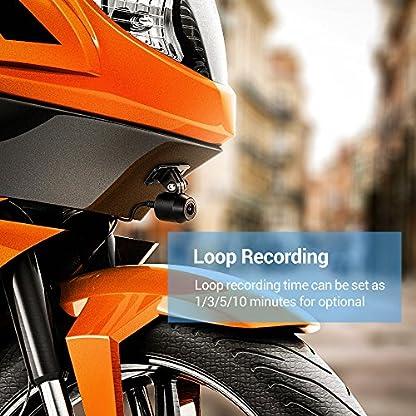 Blueskysea-Motorrad-Dash-Cam-Motorcycle-Aufnahme-Kamera-1080P-Dual-Lens-Video-Rekorder-Motorrad-Dash-Cam-Sport-Action-Kamera-mit-27-LCD-Bildschirm-130-Grad-Winkel-Night-Vision