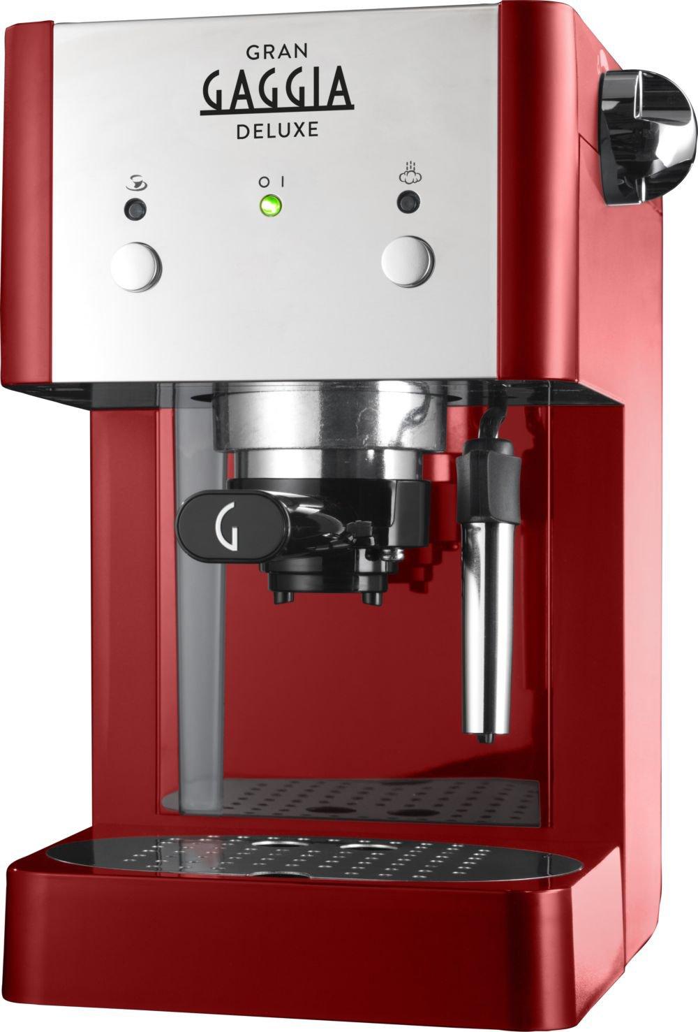 Gaggia-Macchina-da-caff-manuale-ri842522-GRANGAGGIA-Deluxe-Rot