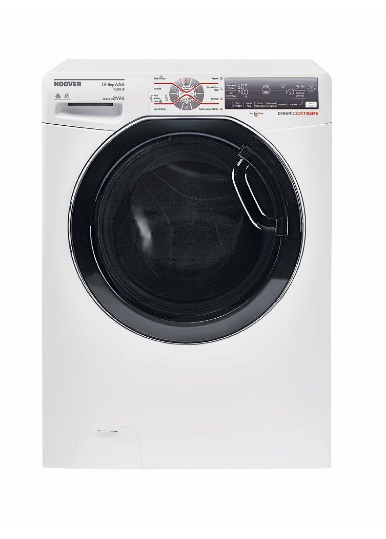 Hoover-wdwft-4138-ah-01-autonome-Belastung-Bevor-A-wei–Waschmaschinen-mit-Wsche-Belastung-vor-autonome-wei-links-Berhren-LED