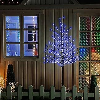 VINGO-LED-Kirschbltenbaum-LED-Weihnachtsdekoration-Lichterbaum-IP44-fr-Innen-und-Auen-Metallfu-Stabil