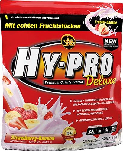 All Stars Hy-Pro Deluxe Protein, Erdbeer-Banane, 1er Pack (1 x 500 g)