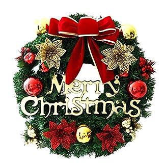 Weihnachtskranz-Dekorative-Weihnachtsgirlande-Chic-Schne-Weihnachtskranz-Weihnachtsschmuck-Innentr-Weihnachtsfeier-Geschenk-Kranz-30cm-Weihnachtsdeko-X-Mas-Weihnachten-Trkranz-GoldRot