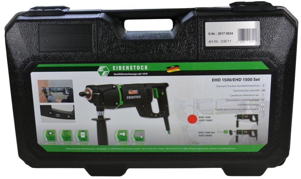 Eibenstock-Trockenbohrmaschine-EHD1500-inklusive-Staubabsaugung-Diamant-Dosensenker-Titan-W