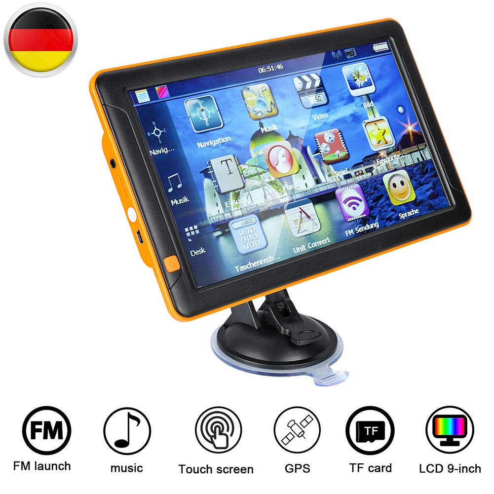 g nstig autotipps 8 gb 9 zoll touchscreen navigationsger te f r auto lkw pkw kfz autotipps bei. Black Bedroom Furniture Sets. Home Design Ideas