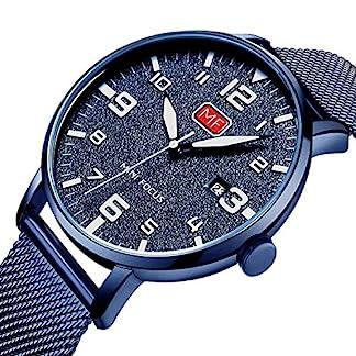 Herren-Armbanduhr-fr-Herren-dnn-Mesh-Edelstahl-wasserdicht-analog-Quarz-Armbanduhr-fr-Mnner