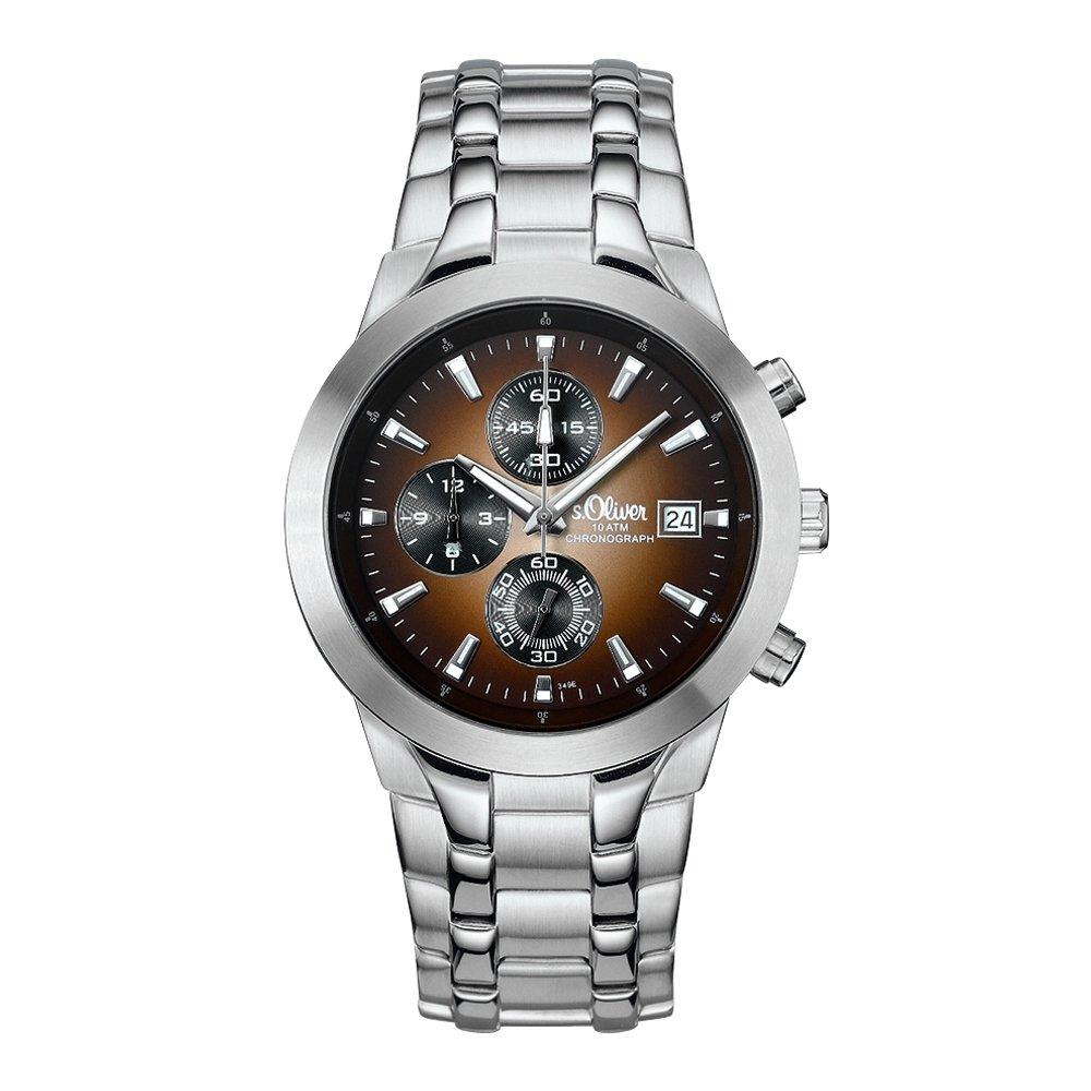 sOliver-Herren-Armbanduhr-Analog-Quarz-Chronograph-SO-15054-MCR