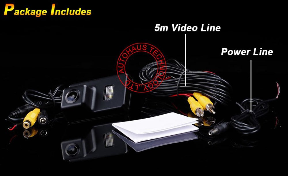 Kalakass-HD-CCD-Rckfahrkamera-Kennzeichen-Einparkhilfe-Nachtsicht-fr-206-207-306-308-307-406-407-5008