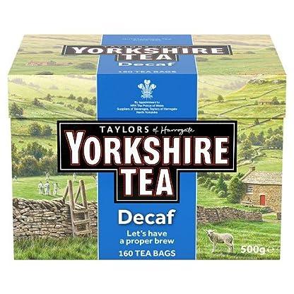Taylors-of-Harrogate-Yorkshire-Tea-Decaffeinated-160-Btl-500g-entkoffeinierter-britischer-Schwarztee