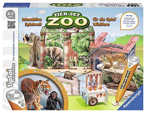 Ravensburger-00732-Tiptoi-Tier-Set-Zoo