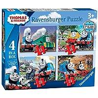 Ravensburger-6971-Thomas-Friends-Big-World-Adventures-4-in-a-Box-12-16-20-24-Teile-Puzzle-Mehrfarbig