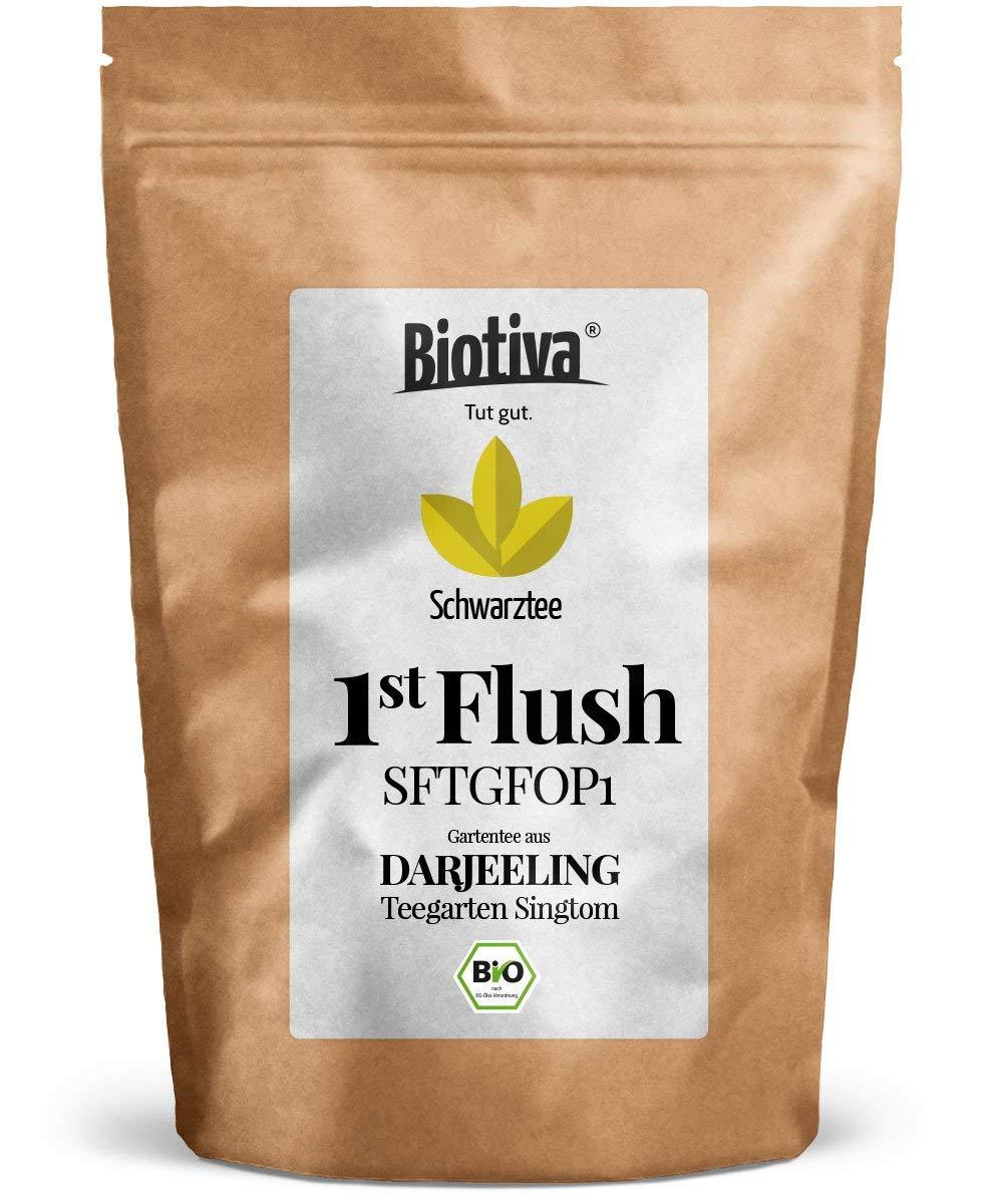 Darjeeling-First-Flush-BIO-250g-I-Top-Bio-Schwarztee-I-Abgepackt-und-kontrolliert-in-Deutschland-DE-KO-005-I-Vorteils-Preis-durch-Direktimport
