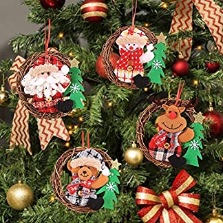 4-Pcs-Weihnachten-Rattan-Trkranz-Klein-Knstliche-Tr-Deko-Aufhngen-Weihnachtsmann-Trkranz-Elk-Christbaumanhnger-Zierschmuck-fr-Haus-Hotel-Mall-Bro-15-Cm