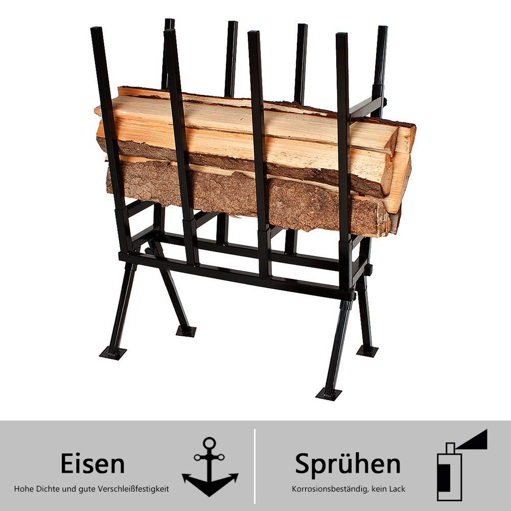 AUFUN-83x83x79cm-Sgebock-Stahl-Zusammenfaltbar-bis-100kg-belastbar-Holzschneidebock-fr-Sgegestell-Holzsgebock-Sge-Kettensgebock