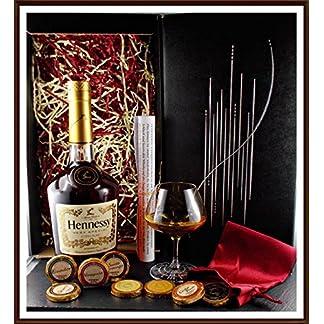 Geschenk-Set-Cognac-Hennessy-VS-mit-DreiMeister-Edel-Schokoladen-und-Stielglas-im-edlen-Geschenk-Karton