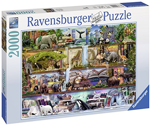 Ravensburger-16652-Aimee-Steward-Groartige-Tierwelt-2000-Teile-Puzzle