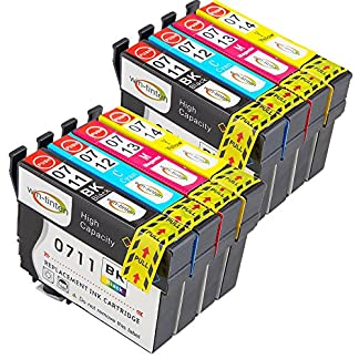 Win-Tinten-Kompatibel-Tintenpatronen-Epson-T0711-T0712-T0713-T0714-T0715-fr-Epson-Stylus-SX218-SX515W-SX400-SX200-SX600FW-SX610FW-BX3450F-D78-D92-D120-DX4000-DX4050-DX4400-DX4450-DX5000-DX5050-DX6000-