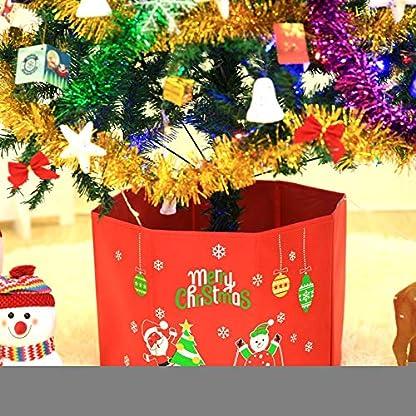 Milopon-Christbaumstnder-Weihnachtsbaum-Decke-Weihnachtsbaumdecke-Baumdecke-Weihnachts-Dekorationen-Weihnachtsbaum-Abdeckung-Runde-Christbaumdecke-fr-Weihnachtenbaum-37cm