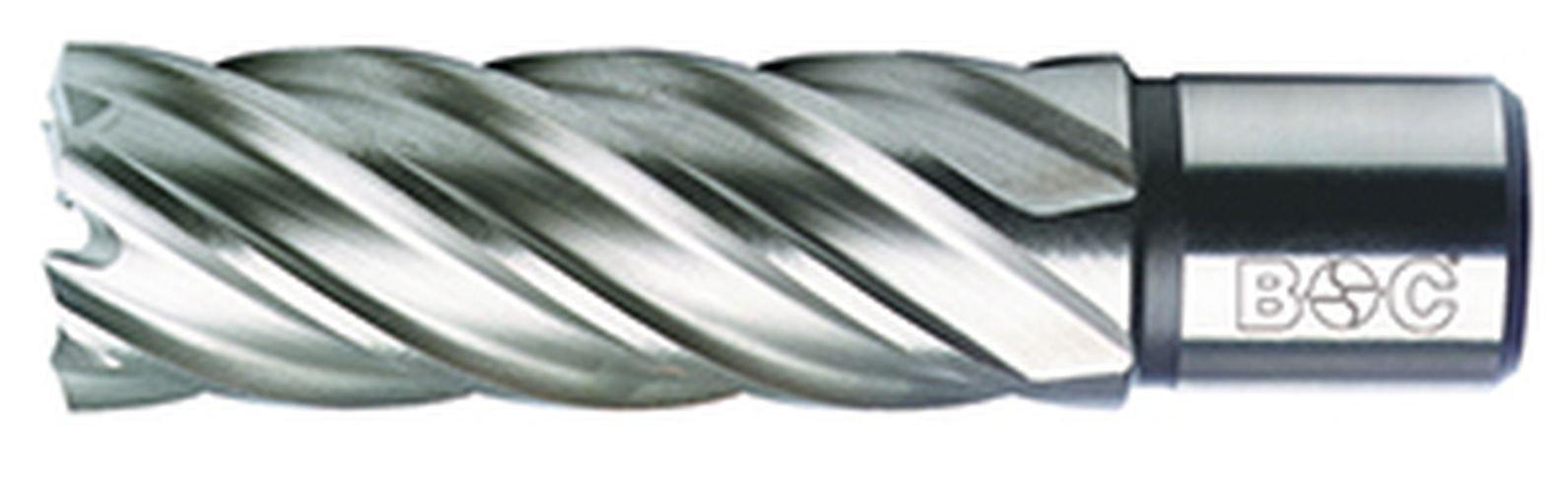 Bohrcraft-Kernbohrer-HSS-mit-Weldonschaft-34-Zoll-210-x-50-mm-Schnitttiefe-in-QuadroPack-1-Stck-19500302150