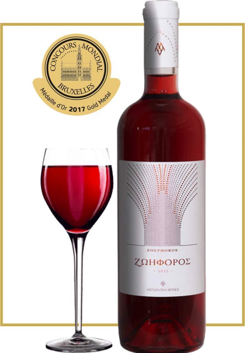 Griechischer-Ros-Wein-Mehrfach-Prmiert-Jahrgang-2017-Trocken-Mesimvria-Winery-by-ARISTOS