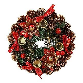 ZXPAG-Trkranz-Weihnachten-Weihnachtsdeko-Kranz-Hangend-PVC-Fr-Tr-Outdoor-Weihnachts-Parties-Feste-Tren-Feste-Deko