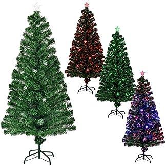 encasa-150cm-Knstlicher-Christbaum-Weihnachtsbaum-Weihnachten-grn-Baum-Tanne-Weihnachtsdeko