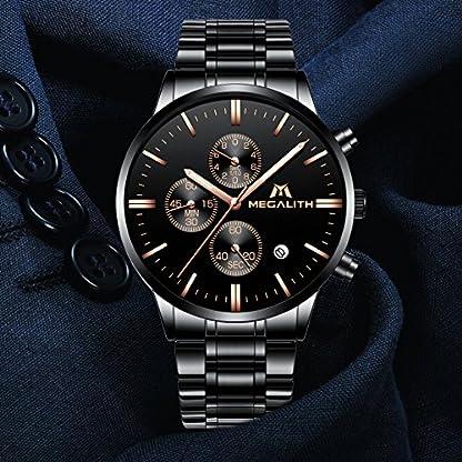 Herren-Uhren-Mnner-Militr-Sport-Wasserdicht-Chronograph-Schwarz-Edelstahl-Armbanduhr-Mann-Luxus-Mode-Leuchtende-Datum-Analoge-Uhr