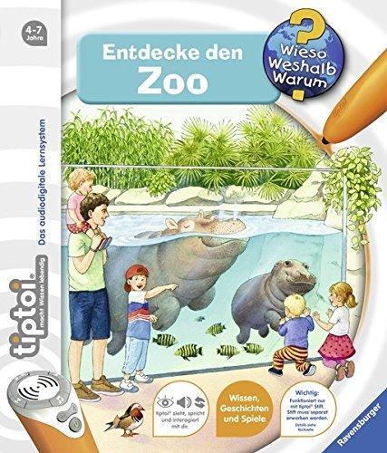 Ravensburger-tiptoi–Buch-Entdecke-den-Zoo-Kinder-Tier-Weltkarte-Lnder-Tiere-Kontinente
