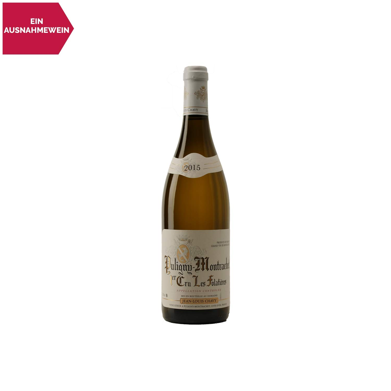 Puligny-Montrachet-premier-cru-Les-Folatires-Weiwein-2015-Domaine-Jean-Louis-Chavy-gU-Burgund-Frankreich-Rebsorte-Chardonnay-75cl