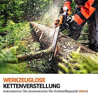 Tacklife-Elektro-Kettensge-1800W-Schwertlnge-35-cm-Kettengeschwindigkeit-15ms-Werkzeuglose-Kettenspannung-Kettensge-mit-auto-Kettenschmierung-PCS01B