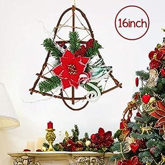 16-Zoll-Weihnachten-Weinrebe-Kranz-Kleiderbgel-fr-Haustr-Klingglckchen-Girlanden-Weihnachtsstern-mit-roten-Beeren-Glitzer-Zierschmuck-fr-Home-Party-Dekoration-Winter-Erste-Feiertag-Bescherung