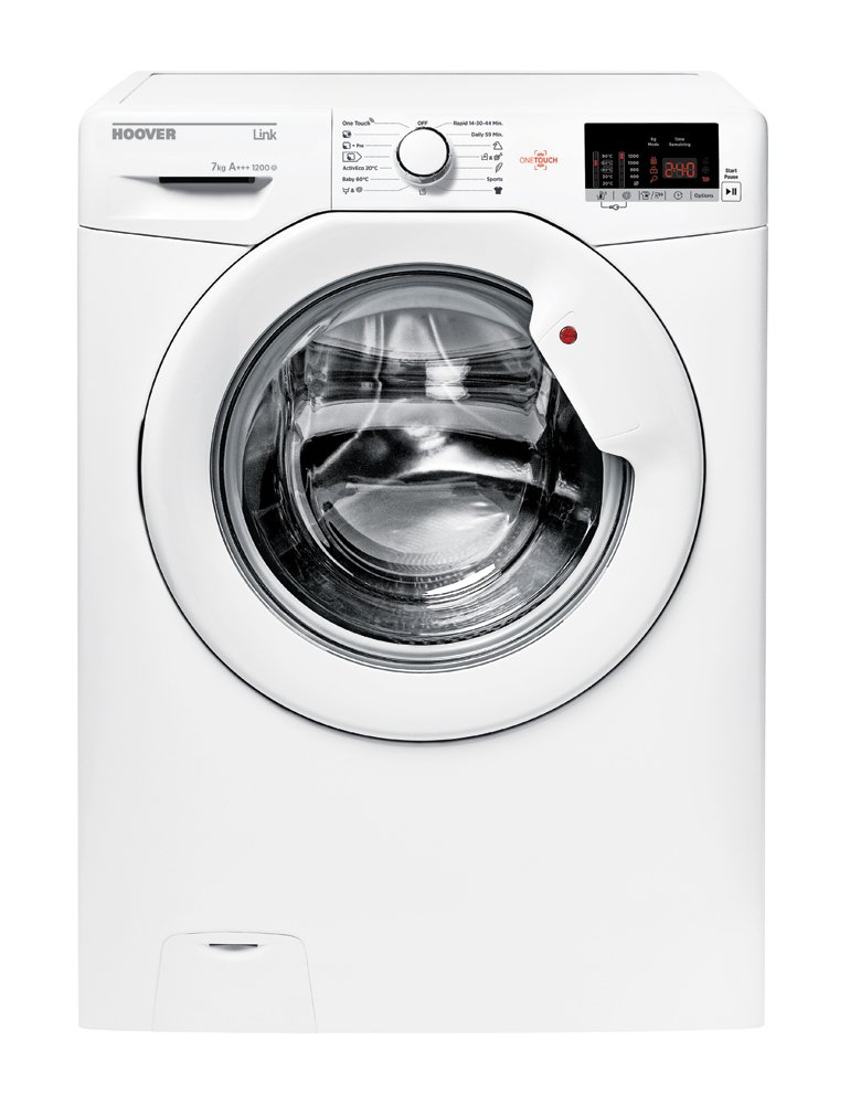 Hoover-HL4-1272d32-S-freistehend-Lade-Front-7-kg-1200-Umin-A-Wei-Waschmaschine