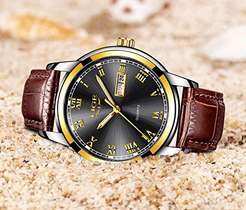Herren-Uhren-Fashion-Einfache-Quarzuhr-Fashion-Casual-Luxus-Business-Armbanduhr-Wasserdicht-Herren-Sport-Uhren-Schwarz-Uhren