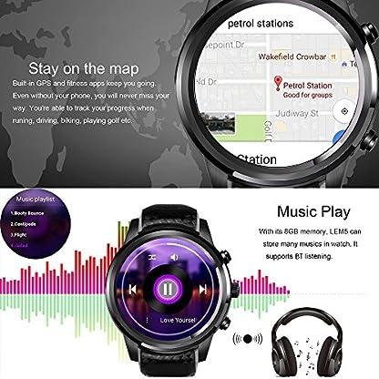 LEMFO-Smart-Watch-Smartwatch-fr-Android-44-iPhone-IOS-80-ROM-8GRAM-1G-Wifi-GPS-Herzfrequenz-Monitor-Handy