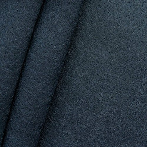 Bastel Filz Stoff Stärke 3,0mm Breite 90cm Meterware Dunkel-Blau