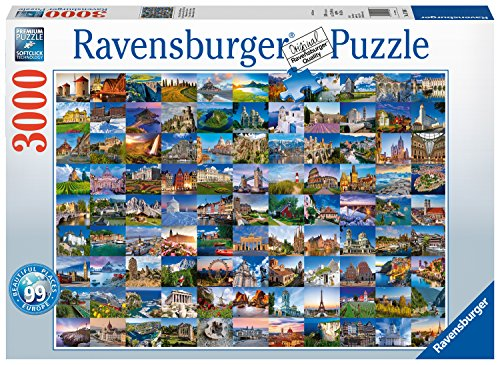 Ravensburger-99-Schne-Places-in-Europa-3000-Teilen-Puzzle