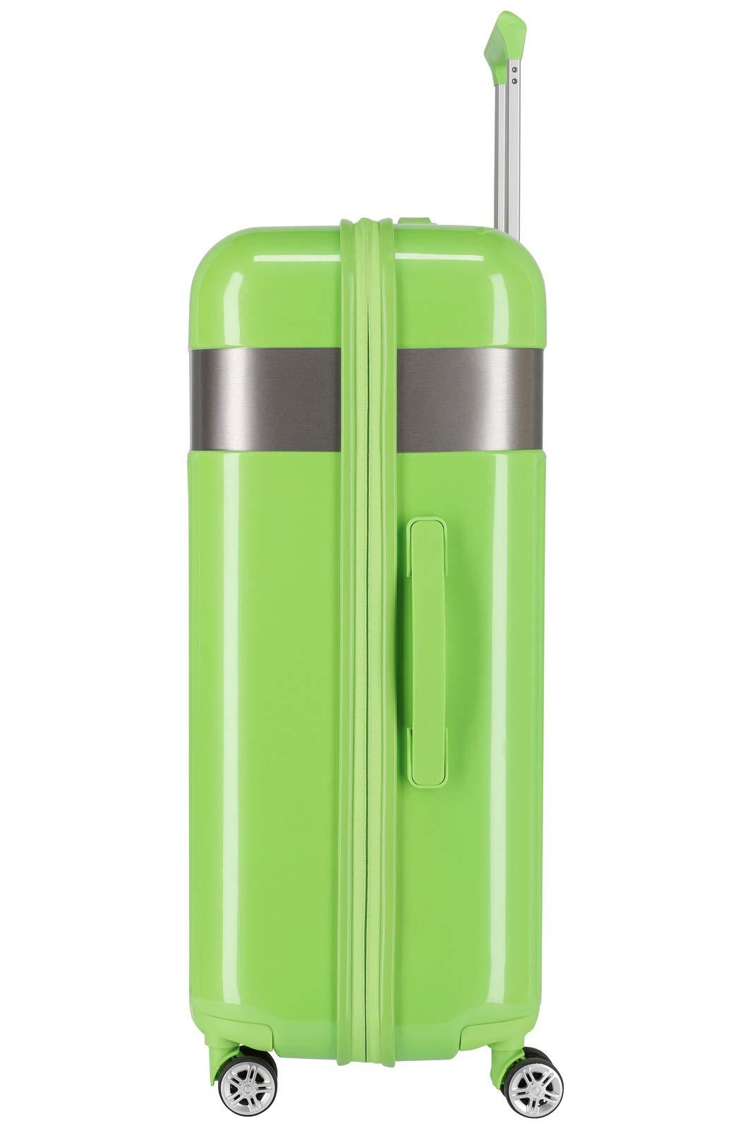 TITAN-Gepckserie-Spotlight-Flash-Edle-TITAN-Trolleys-und-Beautycases-in-knallbunten-Trendfarben-Koffer-Set-76-cm-208-Liter-Flashy-Kiwi